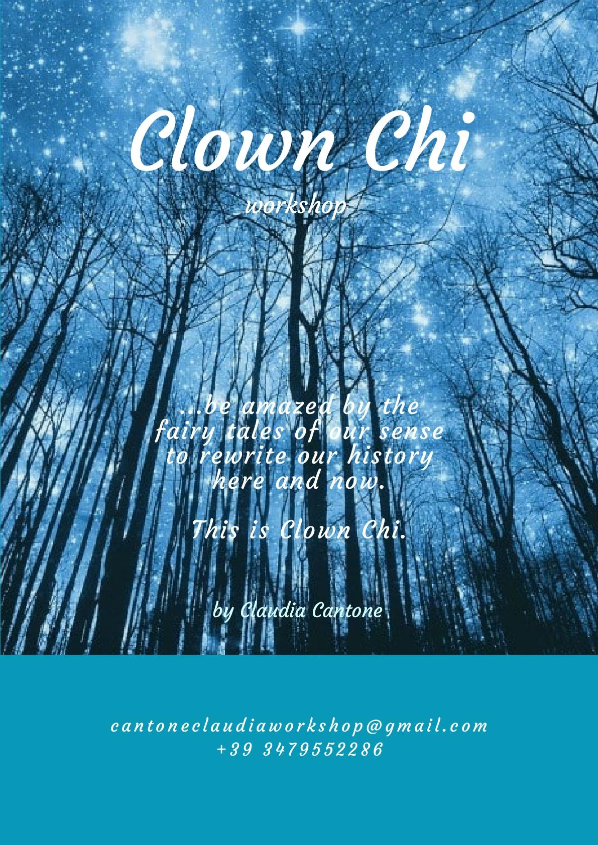 Clown Chi workshop sensorial com Claudia Cantone (it)